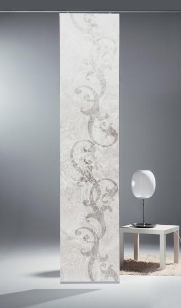 schiebegardine digital bedruckt blickdicht mit flauschband inkl zubeh r blanco gardinen. Black Bedroom Furniture Sets. Home Design Ideas