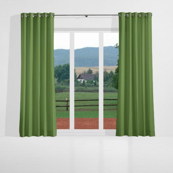 verdunkelungsvorhang nach ma mit sen oliven gr n naldo. Black Bedroom Furniture Sets. Home Design Ideas