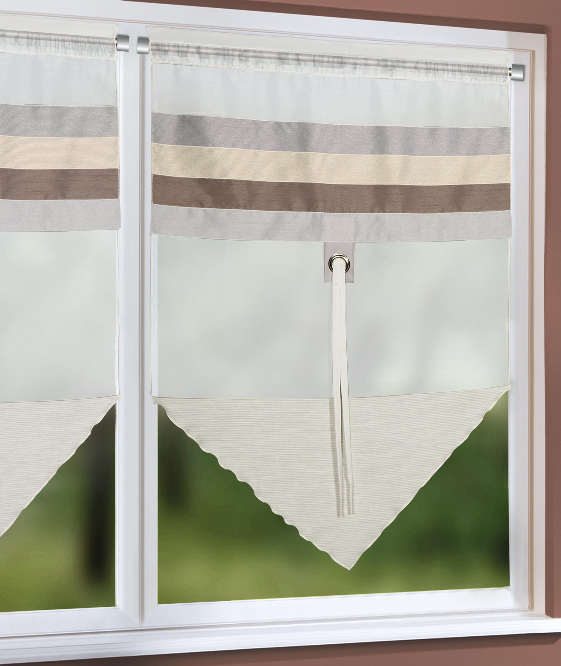 scheibenh nger mit tunnel stangendurchzug n coleta raffrollos fertiggardinen vorh nge. Black Bedroom Furniture Sets. Home Design Ideas