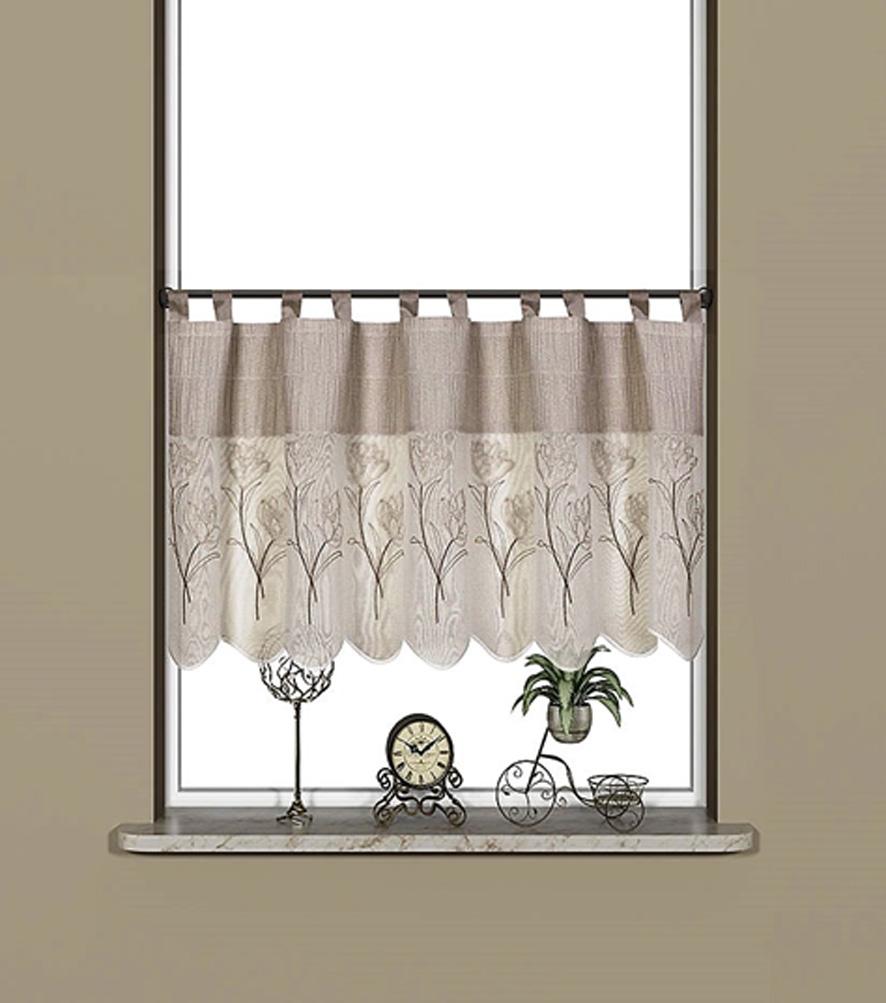 scheibengardine mit schlaufen lorenza scheibengardinen fertiggardinen vorh nge. Black Bedroom Furniture Sets. Home Design Ideas