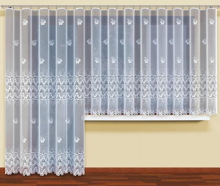gardinen deko gardine wei halbtransparent gardinen. Black Bedroom Furniture Sets. Home Design Ideas