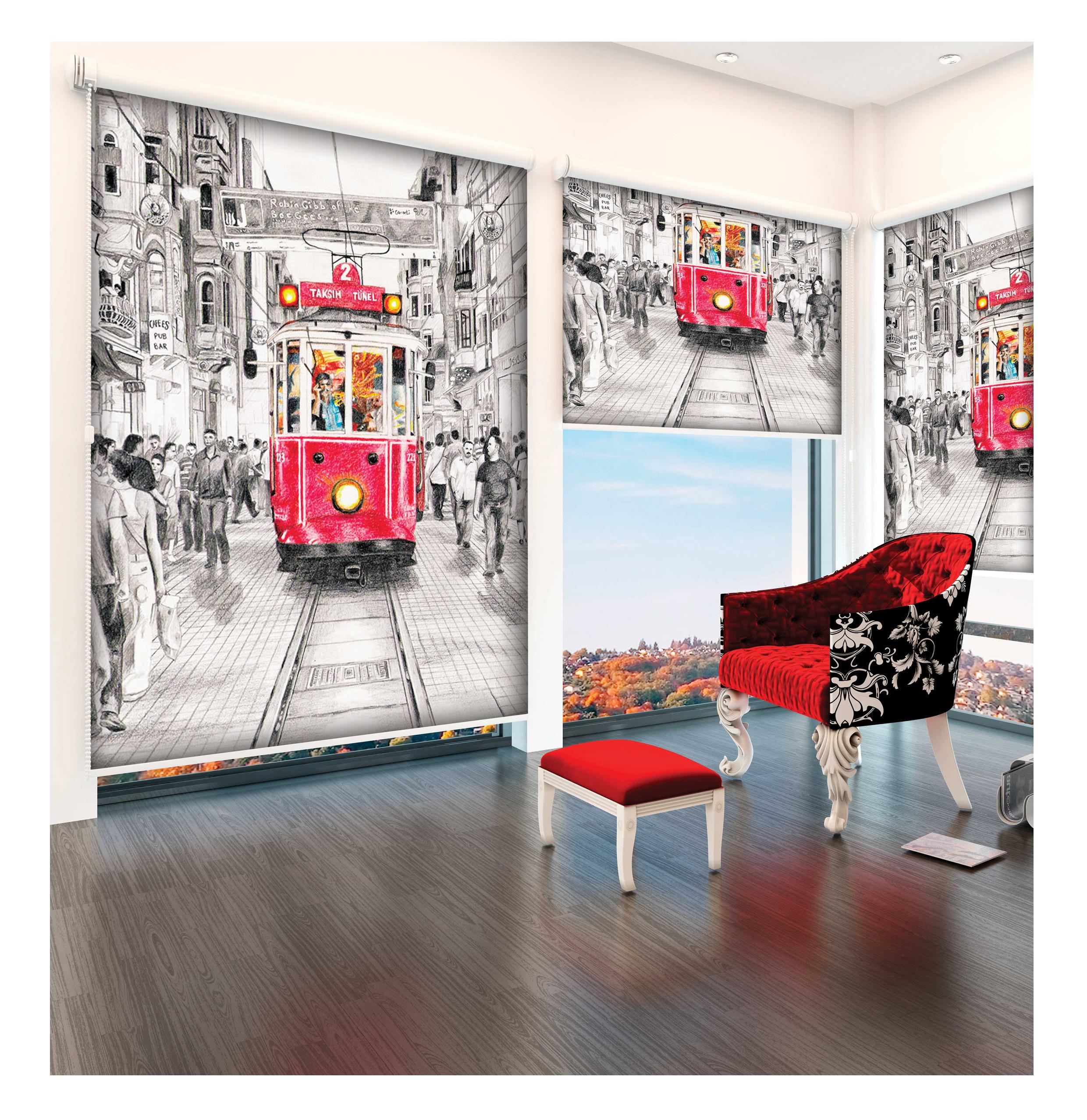 blickdicht klemmfix sichtschutzrollo ohne bohren mit kettenzug istanbul sale bn gardinen. Black Bedroom Furniture Sets. Home Design Ideas