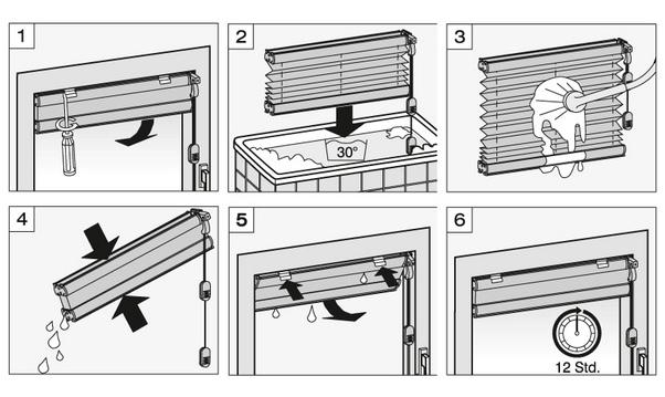 blickdicht easyfix plissee ohne bohren mit 2 bedienschienen wei plissee ohne bohren. Black Bedroom Furniture Sets. Home Design Ideas