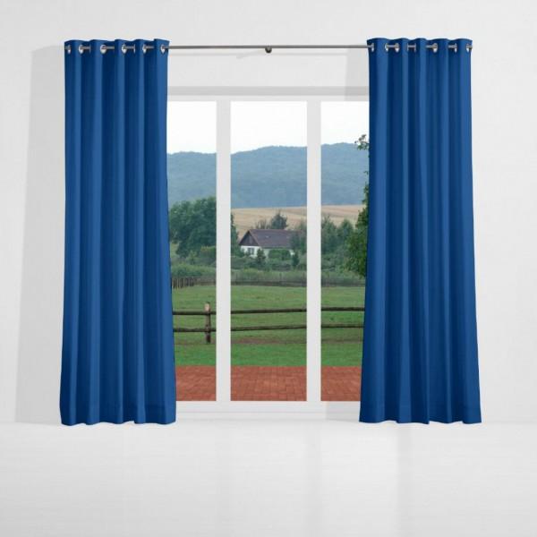 verdunkelungsvorhang nach ma mit sen prussian blau naldo. Black Bedroom Furniture Sets. Home Design Ideas
