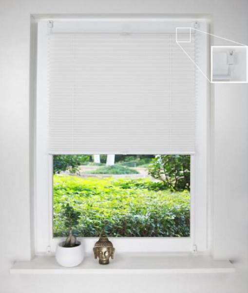 plissee ohne bohren blickdicht aemulus mit klemmfix plissees sicht sonnenschutz bn. Black Bedroom Furniture Sets. Home Design Ideas