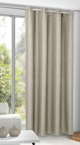 senschal naturoptik blickdichter stoff barberry senschals fertiggardinen gardinen. Black Bedroom Furniture Sets. Home Design Ideas