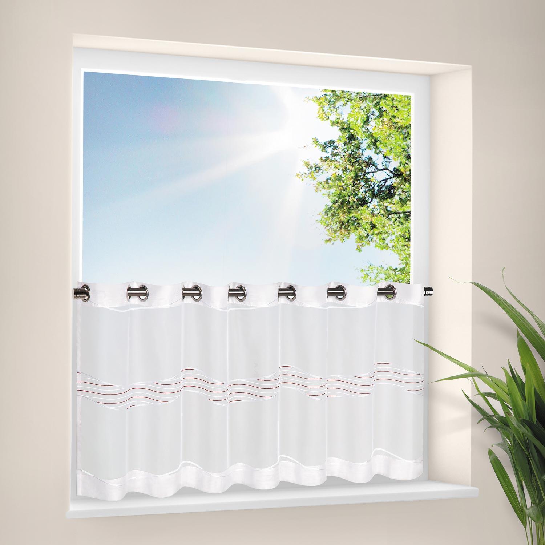 scheibengardine mit sen azure scheibengardinen fertiggardinen vorh nge gardinen. Black Bedroom Furniture Sets. Home Design Ideas
