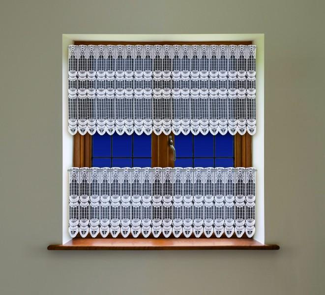 meterware scheibengardine stangendurchzug jacquardstoff wei ir na scheibengardinen. Black Bedroom Furniture Sets. Home Design Ideas