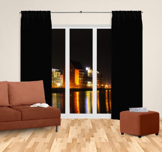 gardinen schwarz gardine schwarz mit sen xcm with gardinen schwarz elegant ikea schwarz landau. Black Bedroom Furniture Sets. Home Design Ideas