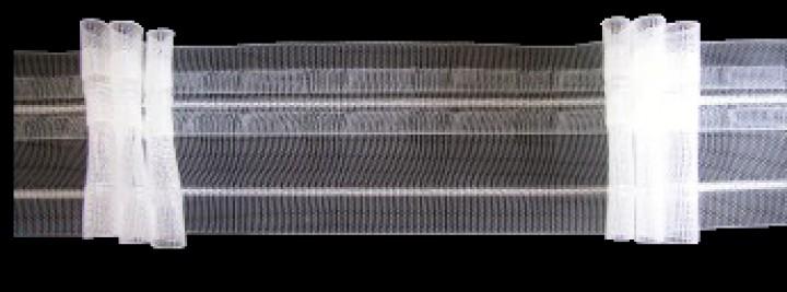 gardinenband faltenband 50 mm 3f 2 5 1 volltrsparent bn gardinen online shop. Black Bedroom Furniture Sets. Home Design Ideas