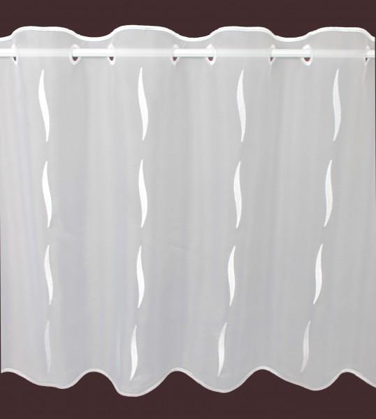 scheibengardine nach ma wei motor h he 55cm gardinen. Black Bedroom Furniture Sets. Home Design Ideas