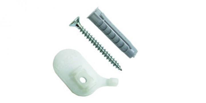 deckentr ger f r aluminium vorhangschiene 1 2 3 l ufig aluminiumschienen gardinenschienen. Black Bedroom Furniture Sets. Home Design Ideas