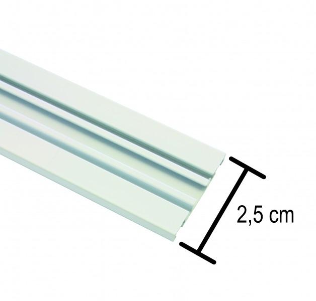 Großartig Aluminium-Vorhangschiene 1,2,3-läufig | Aluminium-Vorhangschiene 1  IX71