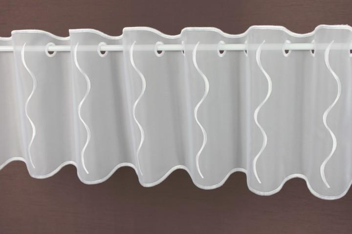 scheibengardine nach ma wei assos h he 30 cm. Black Bedroom Furniture Sets. Home Design Ideas