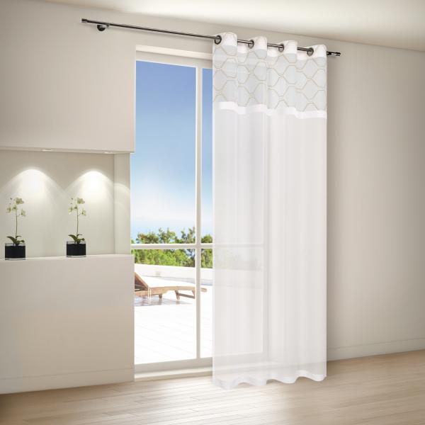 senschal voile halbtransparenter stoff mit sen sophie senschals fertiggardinen. Black Bedroom Furniture Sets. Home Design Ideas