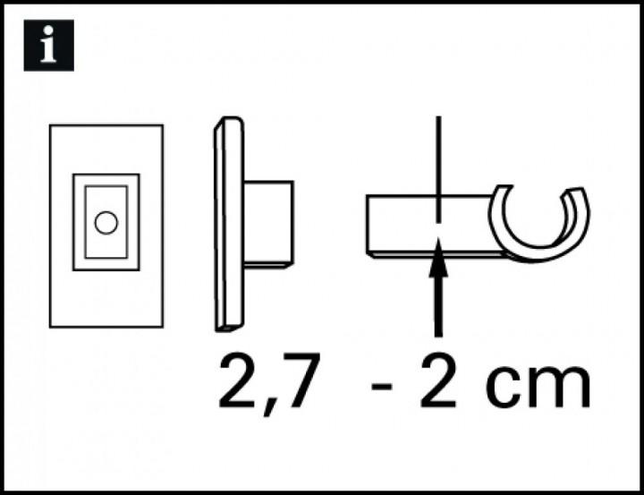 tr ger f r cafehausstange california 12 mm. Black Bedroom Furniture Sets. Home Design Ideas