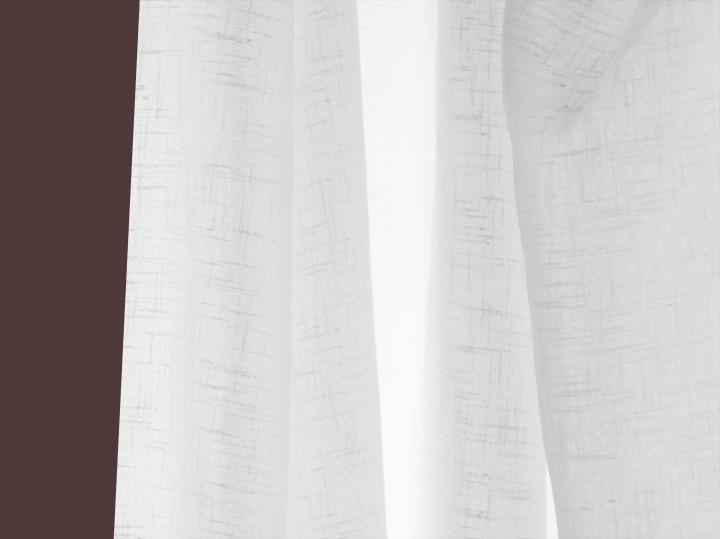 Gardinenstoff Effektgarne Voile käseleinen weiß | Gardinenstoffe