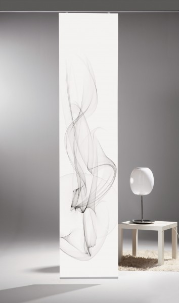 schiebegardine digital bedruckt blickdicht mit flauschband inkl zubeh r blanca. Black Bedroom Furniture Sets. Home Design Ideas