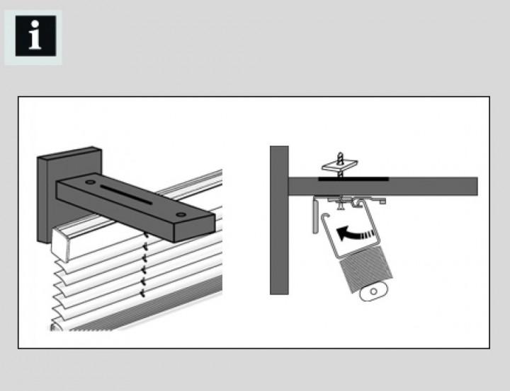 spezialtr ger f r hochschleuderschiene luxor. Black Bedroom Furniture Sets. Home Design Ideas