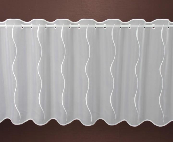 scheibengardine nach ma wei assos h he 55cm. Black Bedroom Furniture Sets. Home Design Ideas