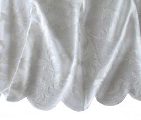 gardinen meterware florentiner t ll gardinen drehersable wei gardinenstoffe stickerei. Black Bedroom Furniture Sets. Home Design Ideas