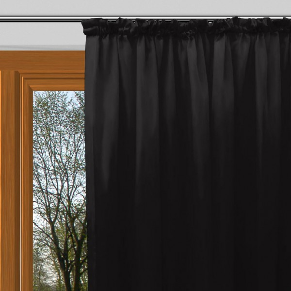 ma anfertigung schwer entflammbarer verdunkelungsstoff mit kr usel schwarz almira. Black Bedroom Furniture Sets. Home Design Ideas