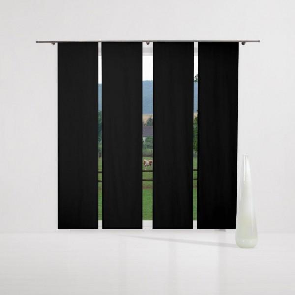 verdunkelungsvorhang nach ma schiebegardine komplettset. Black Bedroom Furniture Sets. Home Design Ideas
