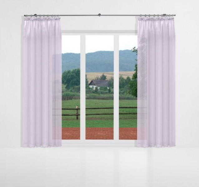 gardinen uni voile nach ma kr uselband voile chalk violett signum gardinen nach ma mit. Black Bedroom Furniture Sets. Home Design Ideas