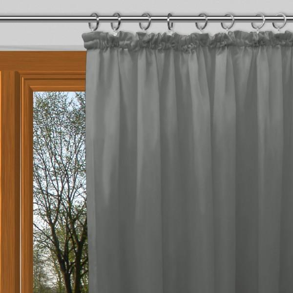 vorhang grau kräuselband