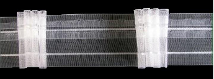 gardinenband faltenband 50 mm 4f 3 0 1 volltrsparent bn gardinen online shop. Black Bedroom Furniture Sets. Home Design Ideas
