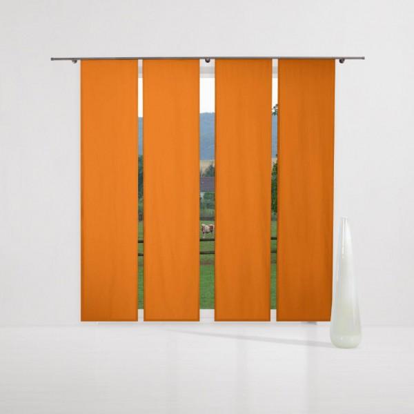 verdunkelungsvorhang nach ma schiebegardine komplettset carrot orange gardinen nach ma. Black Bedroom Furniture Sets. Home Design Ideas