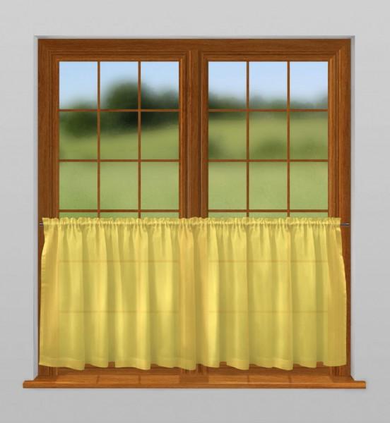 scheibengardine nach ma mit tunnel dandelion gelb bahama scheibengardinen nach ma mit. Black Bedroom Furniture Sets. Home Design Ideas