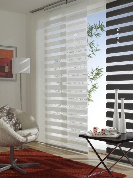 schiebegardine fl chenvorhang day night grau day. Black Bedroom Furniture Sets. Home Design Ideas