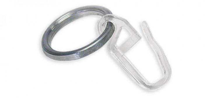 ringe mit gleiteinlage new york edelstahl 12 mm gardinenstange einzelprogramm rohr new york. Black Bedroom Furniture Sets. Home Design Ideas