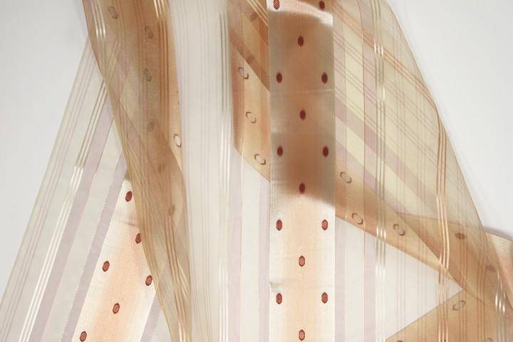 gardinen nach ma mit universalband phantasiet ll apricot. Black Bedroom Furniture Sets. Home Design Ideas