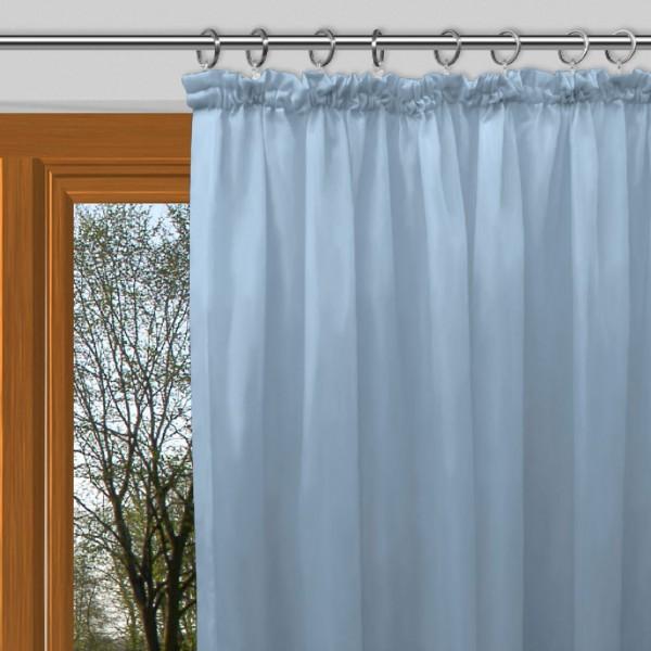 gardinen nach ma mit kr uselband blickdicht verdunkelung light steel blau boa. Black Bedroom Furniture Sets. Home Design Ideas