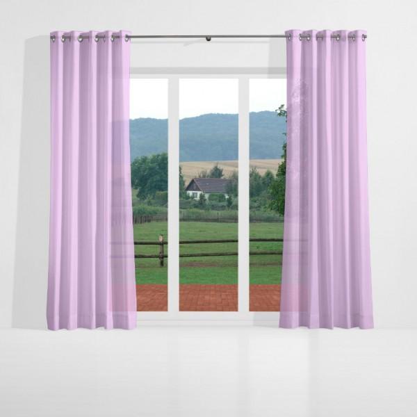 gardinen uni voile nach ma senschal prelude violett. Black Bedroom Furniture Sets. Home Design Ideas