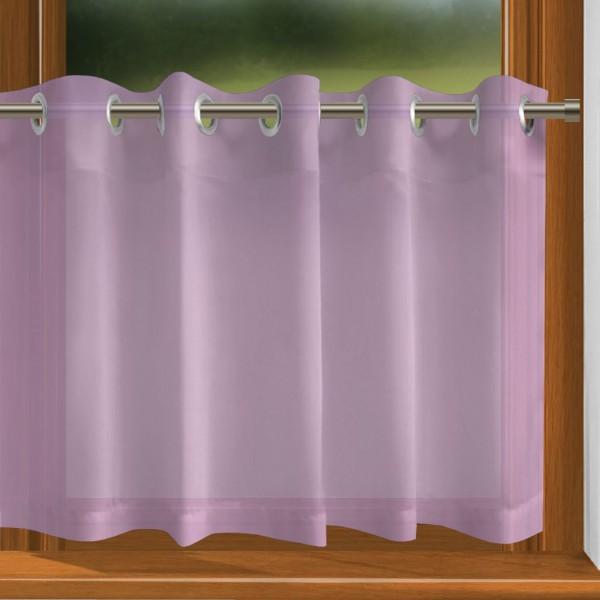 scheibengardine nach ma mit sen prelude violett indigo. Black Bedroom Furniture Sets. Home Design Ideas