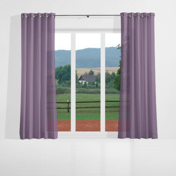 gardinen uni voile nach ma senschal violett acar gardinen nach ma senschals gardinen. Black Bedroom Furniture Sets. Home Design Ideas