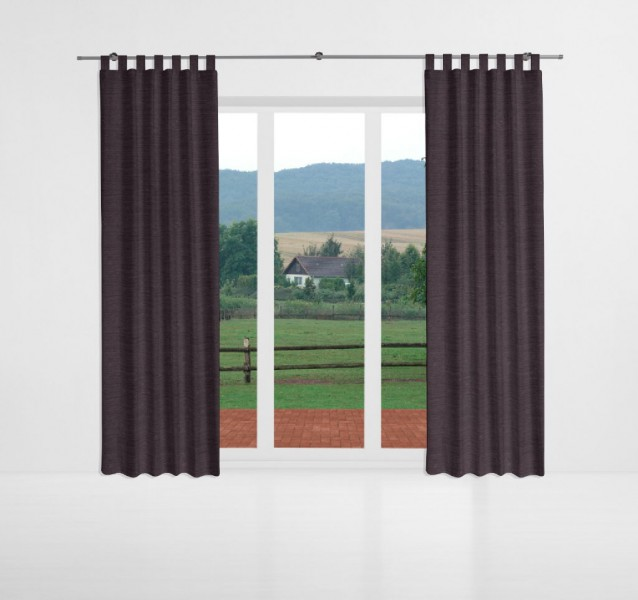thermo chenille blickdicht meterware flieder inuk. Black Bedroom Furniture Sets. Home Design Ideas