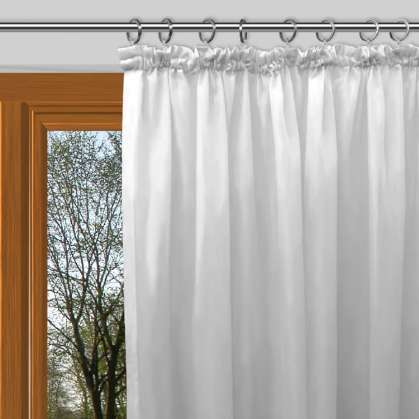gardinen blickdicht weiß
