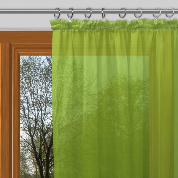 gardinenstoff ezel halbtransparent uni voile gelb gr n. Black Bedroom Furniture Sets. Home Design Ideas